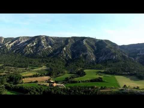 Vues du ciel : les Alpilles, la Montagnette & le Val de Durance