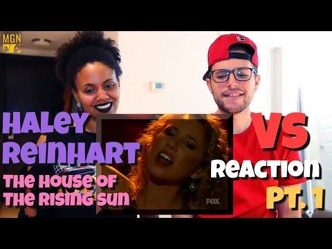 Haley Reinhart - The House of the Rising Sun (American Idol) (VS) Reaction Pt.1