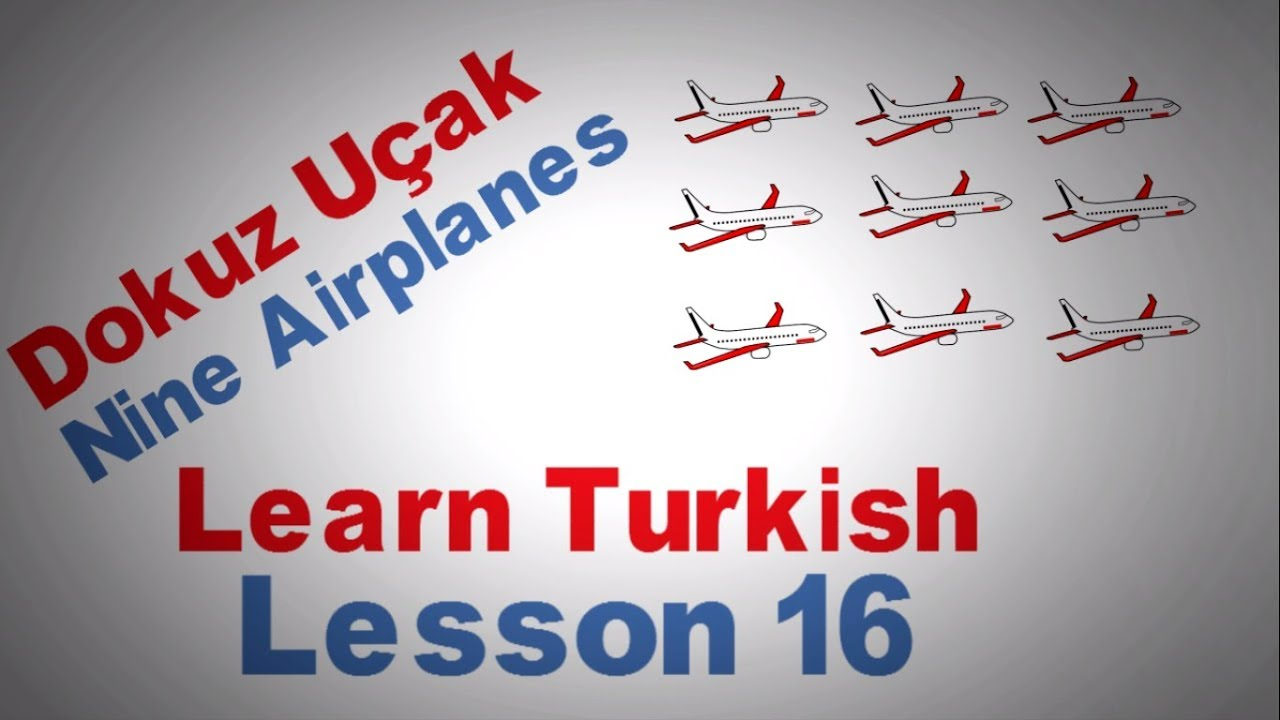 Learn Turkish Lesson 16 - The Turkish Numbers Part 1 - (From 0 to 10)
