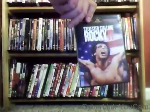 My DVD Collection - Sports Theme Movies
