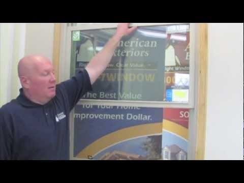 American Exteriors LLC - Amext - How to Open A Window & How to Close ...