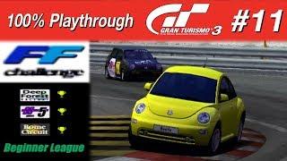 Gran Turismo 3 - #11 - FF Challenge (100% PT)