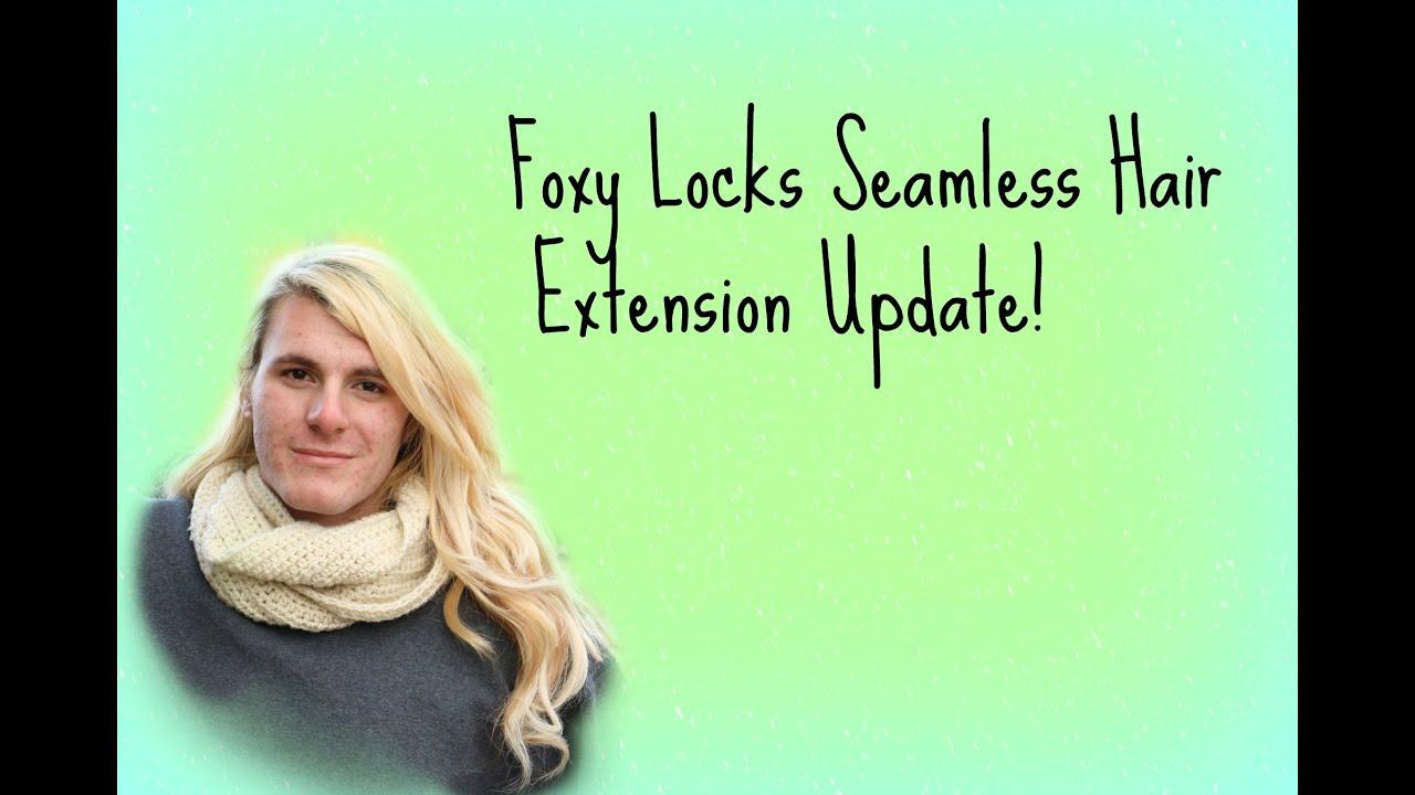Foxy locks vs luxy hair - Foxy Locks Seamless Hair Extensions Update