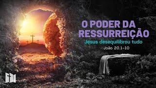 O poder da Ressurreição - João 20.1-10 | Sem. Samir Moraes | #fiqueemcasa e celebre a páscoa #comigo