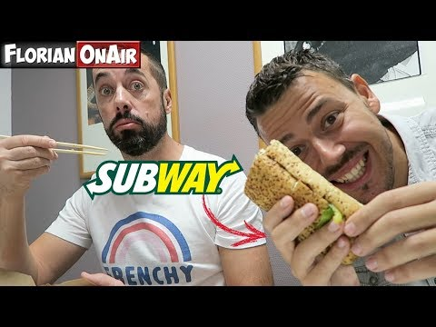 "Je teste le SANDWICH SUBWAY ""PULLED PORK"" - VLOG #467"