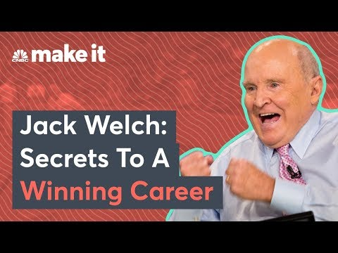 Jack Welch Shares The Secrets To Professional Success