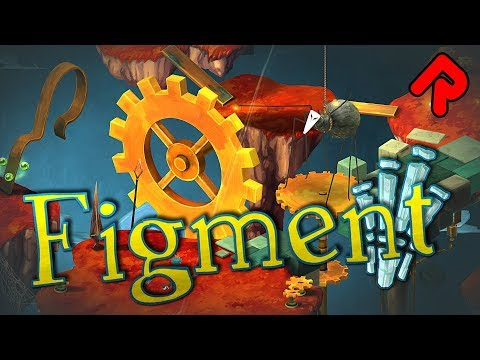 Figment game: A Surreal Musical Car-Crash! | Let's play Figment gameplay impressions (PC)