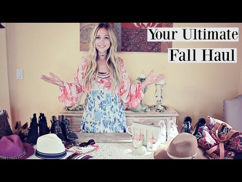 HAUL: Ultimate Fall Haul | 2017 Trends