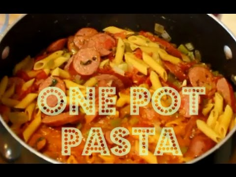 Quick & Easy One Pot Pasta Recipe