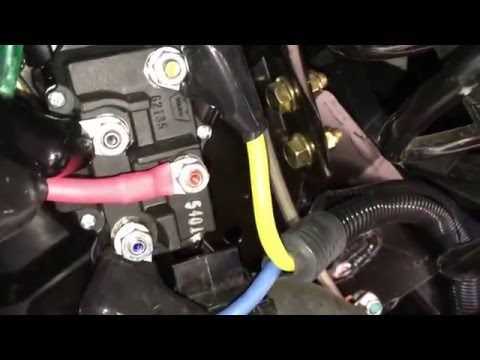 how to diagnose warn winch solenoids