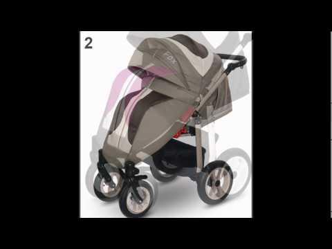 Детская прогулочная коляска Car-Baby Fox