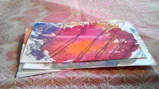 Экономный скрапбукинг: бумага своими руками(Привет в этом видео я расскажу как сделать декоративную бумагу своими руками. Если хочешь больше таких..., 2016-03-17T14:32:31.000Z)
