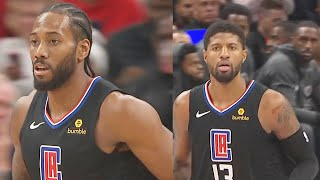 Kawhi Leonard Makes Entire NBA Fear Duo With Paul George! Clippers vs Wizards