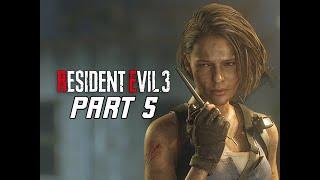 RESIDENT EVIL 3 REMAKE Walkthrough Part 5 - Underground (RE3 PC Gameplay)