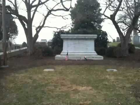 Presidential gravesites: James Buchanan