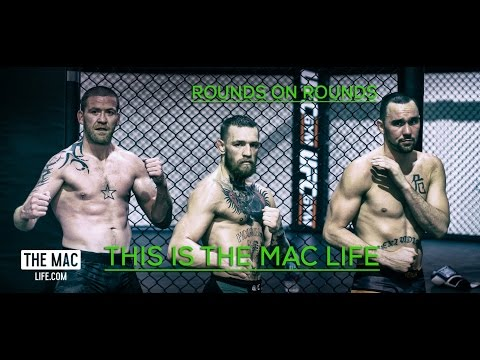 Conor McGregor spars multiple opponents before UFC 202 rematch This Is The Mac Life