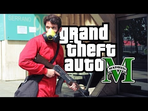 Grand Theft Auto: Madrid - Real Life Trailer