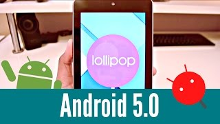 Android 5.0 Lollipop on Nexus 7 - 2012 (OFFICIAL)