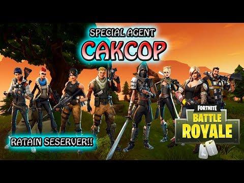 TINGGAL SENDIRIAN RATAIN SESERVER!! - Fortnite Battle Royale Indonesia