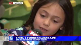 San Diego Children's Discovery Museum Spring & Summer camps