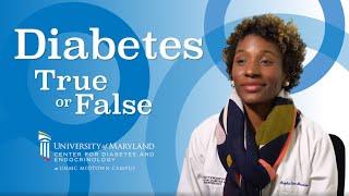 Diabetes: True or False (Weightloss)