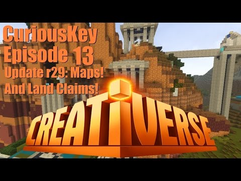 Creativerse Episode 13: Update R29: Maps! And Land Claims!