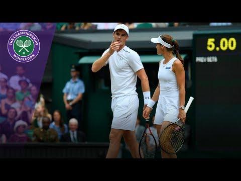 Jamie Murray & Martina Hingis win Wimbledon 2017 mixed doubles