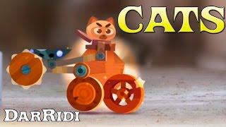 Битва котят мультик игра про боевые машины CATS