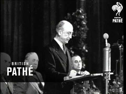 Byrnes Speech  - Byrnes Outlines New German Policy Aka World Affairs (1946)