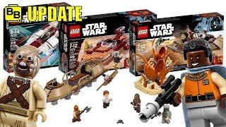 LEGO STAR WARS 2017 MORE WINTER SET IMAGES REVEALED! NEWS UPDATE