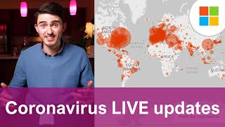 Bing Coronavirus LIVE map tracker shows updates, cases, news by region