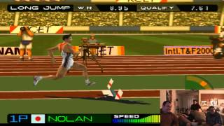 High Long Jump [Nolan and Kris - International Track and Field 2000]