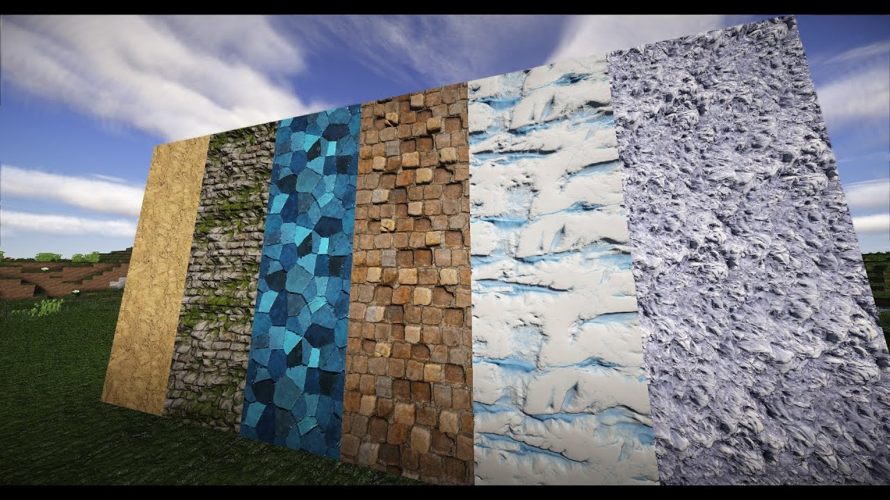 Realismo extremo en Minecraft   Pulchura PurePBR 512x Alpha Cinemática   1080p 60fps - YouTube