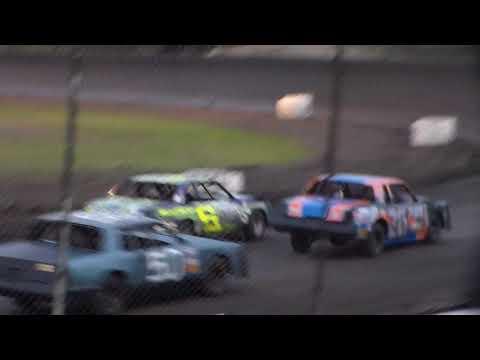 Hobby Stock Heat 2 @ Hancock County Speedway 08/12/17