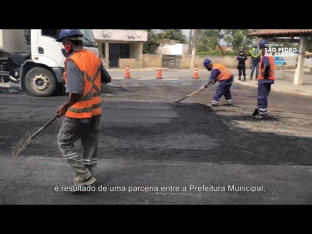 PREFEITURA INFORMA #5 |  Pavimentação Estrada do Alecrim