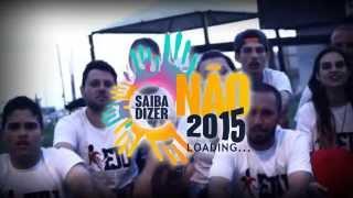 Chamada Saiba Dizer Não 2015