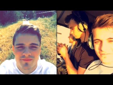 Martin Garrix Newest Snapchat Video
