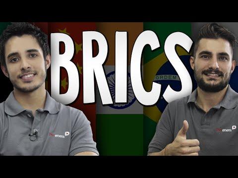 Os BRICS e a crise nos países emergentes para o Enem - Atualidades