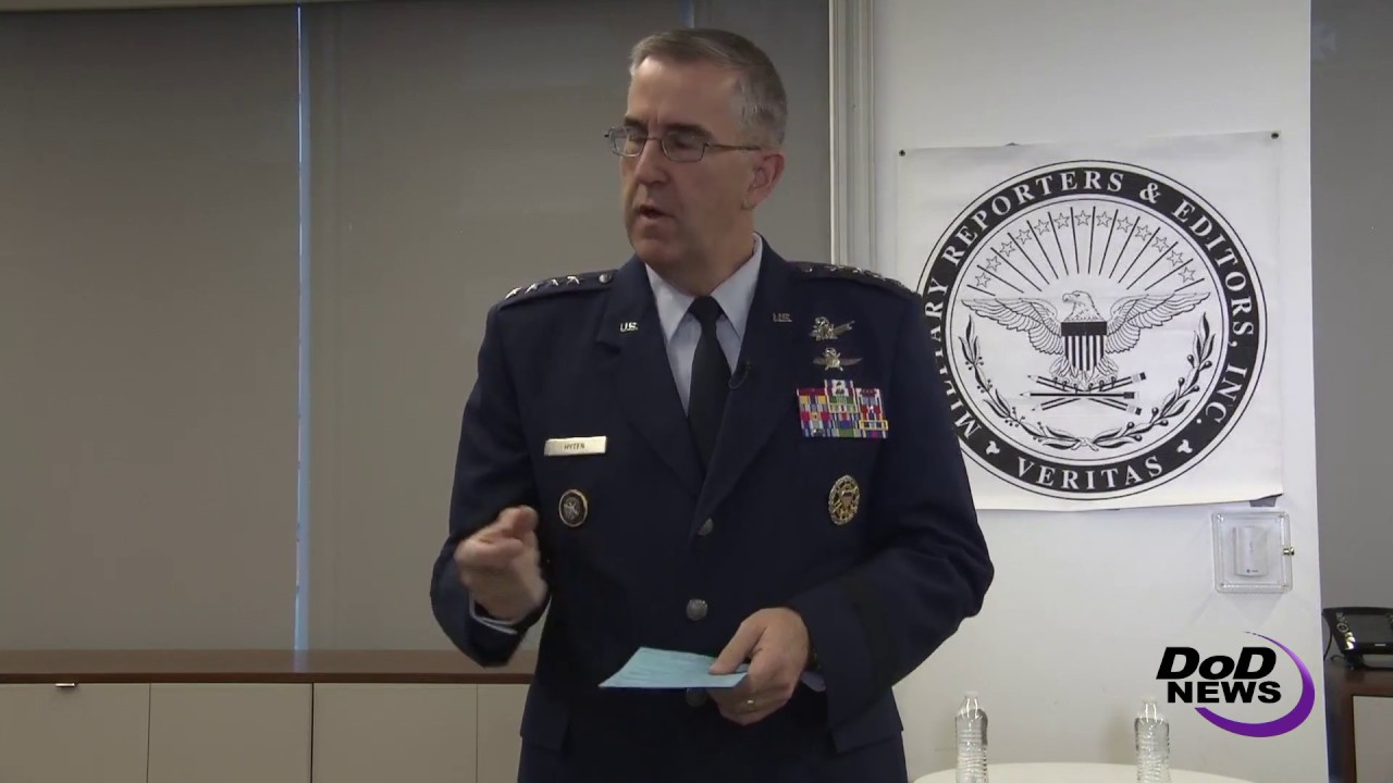 General Speaks on Service Members' Sacrifices to Protect Nation