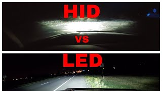 HID vs LED - 55w HID, Morimoto 2Stroke, Auxbeam Lighting F16 Plus, T1 Series - Which is better