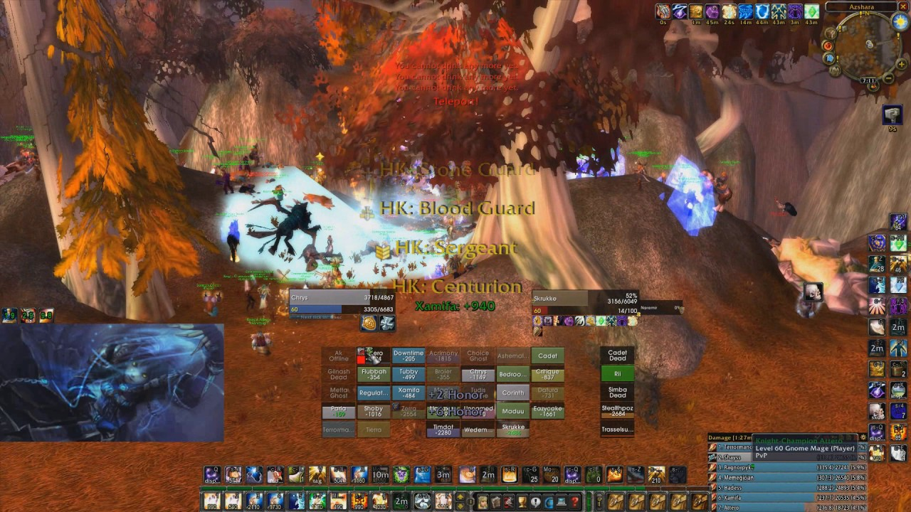 classic wow azuregos by praise and grizzly elysium pvp server