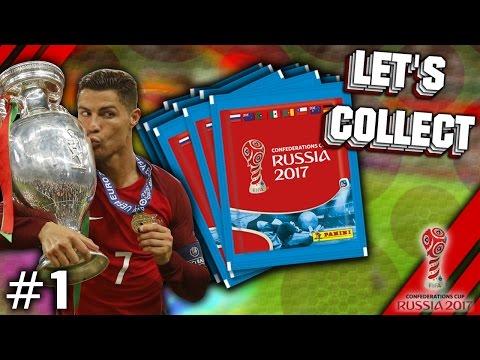 LET'S COLLECT #1 CONFED CUP 2017 RUSSIA   ES GEHT LOS MIT XXL!