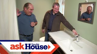 Solving a Spitting Faucet Mystery | Ask This Old House