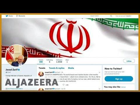 🇮🇷 🇺🇸 Iran's FM Javad Zarif tweets back at Trump: 'BE CAUTIOUS!'   Al Jazeera English