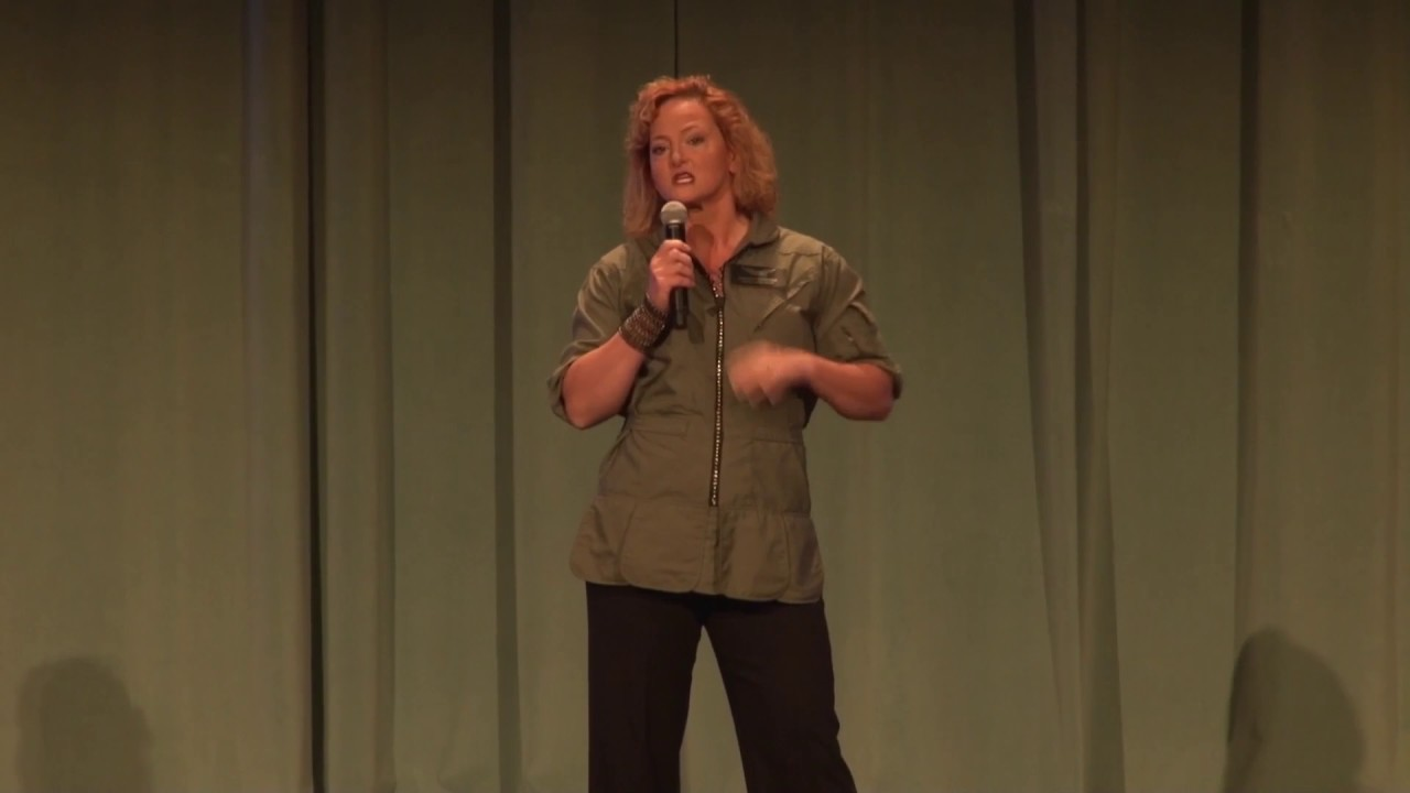 Funny Motivational Speaker Black Hawk Pilot Elizabeth McCormick ...
