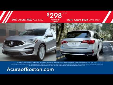 Bernardi Acura Of Boston - Presidents' Day Sales Event - February 2019