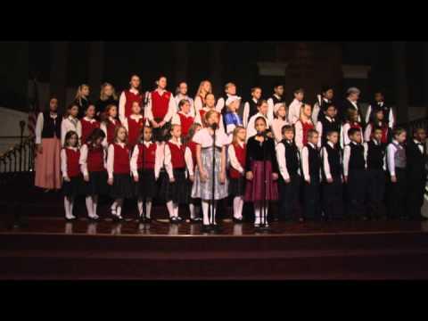 Temple Baptist Academy Christmas Program 2012