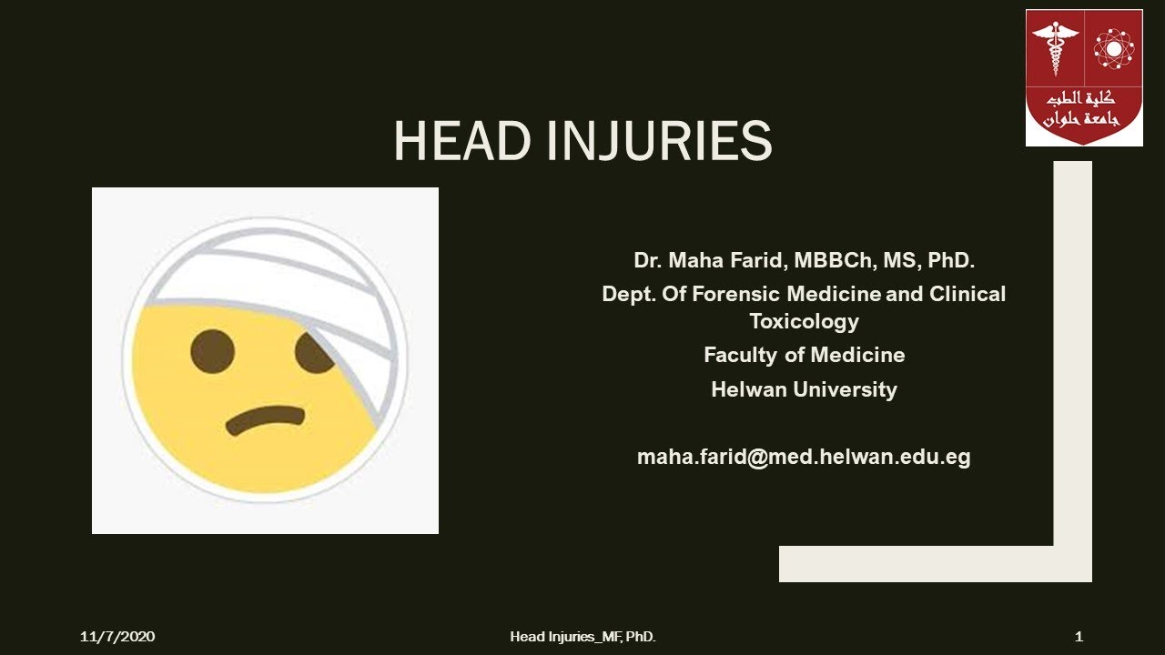 Download Head Injuries Part 2 DrMF