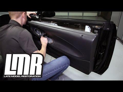 How To: Remove 1994-2004 Mustang Door Panel