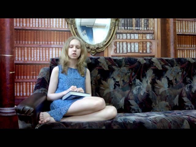 Изображение предпросмотра прочтения – КристинаПиотровская читает произведение «Какая ночь! Мороз трескучий…» А.С.Пушкина